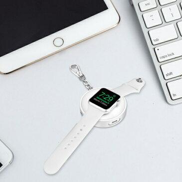 apple watch 充電器 モバイルバッテリー 42mm 38mm Series 1 2 3 対応 アップルウォッチ バッテリー 900mAh 大容量