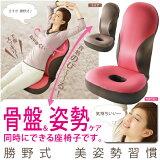 勝野式 美姿勢習慣 【骨盤矯正 座椅子】 骨盤姿勢ケア座椅子