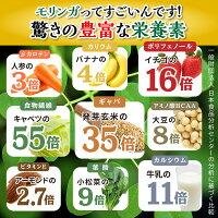 モリンガの驚きの栄養素