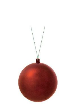 【クリスマス・装飾・カラフルボール】120mmフロストユニボール・フロストチョコレート2ケ入り
