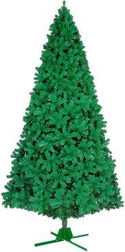 【クリスマス・ヌードツリー・装飾】450cmパインツリー(ワイドチップ)(4分割 1セット=3カートン)(枝が幹に巻きつけられており、手で直接広げるタイプ)