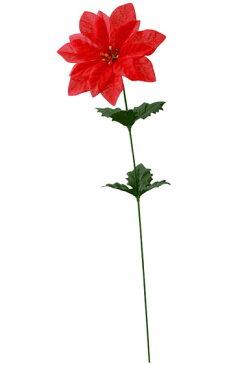 【造花・シルクフラワー】ポインセチアスプレイレッド