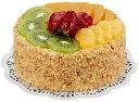【食品サンプル・ケーキ】フルーツケーキ(ホール)(フォーム素材)(BC付)
