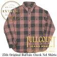FULLCOUNT フルカウント バッファローチェック ネルシャツ 25周年モデル 4980EX-1