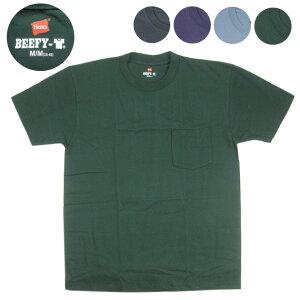 HANES BEEFY ビーフィー 半袖 ポケットTシャツ H5190