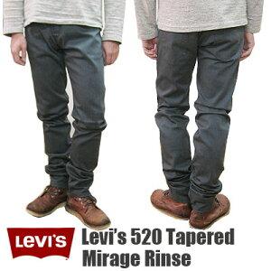 【Levi's】 リーバイス 520 テーパードスリム ミラージリンス ジョッパーズスタイル