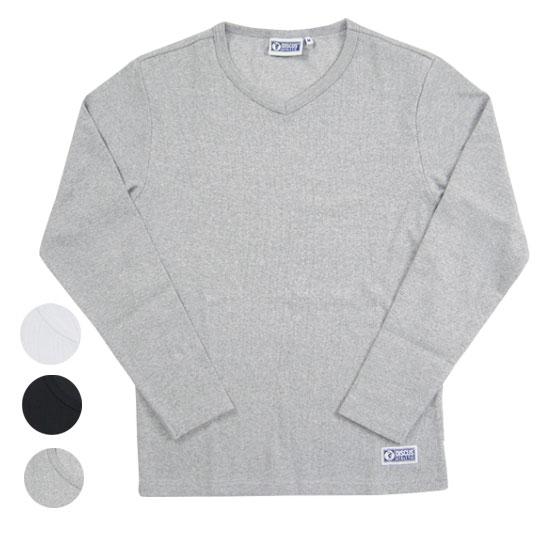 DISCUS ATHLETIC ディスカス VネックロングスリーブTシャツ テレコ L/S V-NECK T-SHIRT R6152-526