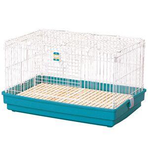 アイリスオーヤマラビットケージUK-800ワイドグリーン【ペット】【ウサギ】【小屋】【ゲージ】【ラビット】