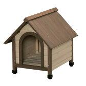 【送料無料】アイリスオーヤマ IRISウッディ犬舎WDK-600ブラウン【お取り寄せ品】