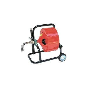 【送料無料】ヤスダ排水管掃除機F4型キャスター型F41015