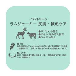 イティラムジャーキートリーツ皮膚・被毛ケア(100g)