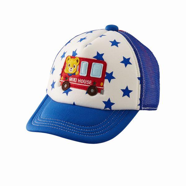 ミキハウス(MIKIHOUSE) プッチー☆ワッペン付きメッシュキャップ(帽子)