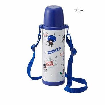 ミキハウス ダブルB(DOUBLE.B)コミック風ステンレスボトル(500ml)(水筒)