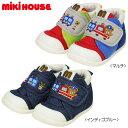 【セール】ミキハウス(MIKIHOUSE) プッチートレイン☆セカンドベビーシューズ(子供靴)