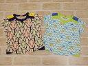 【2019サマーセール】ラグマート(RAG MART)海の生き物モチーフプリントTシャツ(100cm、110cm、120cm、130cm)