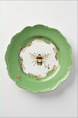 【楽ギフ_包装】【ANTHROPOLOGIE】【アンソロポロジー】蜂プレート食器/お皿/ディナープレート【ギフト】【ラッピング】【結婚祝い】