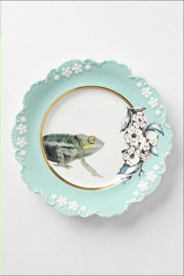 【ANTHROPOLOGIE】【アンソロポロジー】 カメレオン食器/お皿/ディナープレート【ギフト】【ラッピング】【結婚祝い】