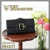 【ジョリサック別注】TOFF&LOADSTONE【財布】トフアンドロードストーン jolisacweb10周年スペシャル パイソン 長財布 ブラック(TLA-200)