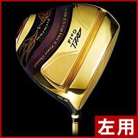 【レフティ/左利き用】つるやアクセルゴールドプレミアム2ドライバー(高反発モデル)
