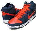 Nike(�ʥ���)Dunk(����)High(�ϥ�)Pro(�ץ�)SB(305050-481)�ڳ�����󤻡�쥢���ʡ�Obsidian/Orange/White[��󥺡�������]������Բ�
