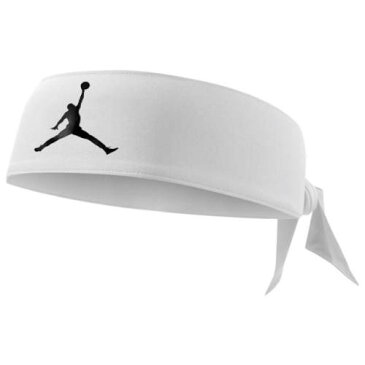 ナイキ ジョーダン JORDAN ジャンプマン ドライフィット ネクタイ 白 ホワイト 黒 ブラック 【 DRIFIT WHITE BLACK JORDAN JUMPMAN HEAD TIE 】 バッグ キャップ 帽子 メンズキャップ 帽子