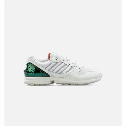 メンズ靴, スニーカー  ADIDAS ORANGE ADIDAS ZX 5000 THE UNIVERSITY OF MIAMI MENS LIFESTYLE SHOE WHITE