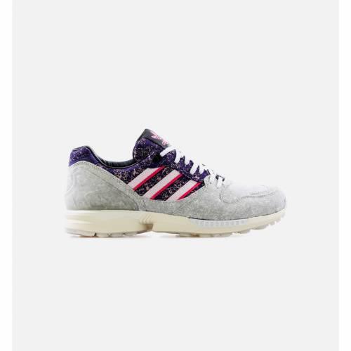 メンズ靴, スニーカー  ADIDAS PURPLE ADIDAS ZX 5000 AZX VIEUX LYON RENAISSANCE MENS LIFESTYLE SHOE GREY