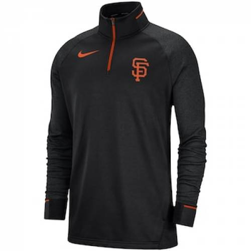 メンズファッション, コート・ジャケット  NIKE BLACK GAME RAGLAN SLEEVE NIKE SAN FRANCISCO GIANTS ELITE PERFORMANCE QUARTERZIP PULLOVER JACKET GNT