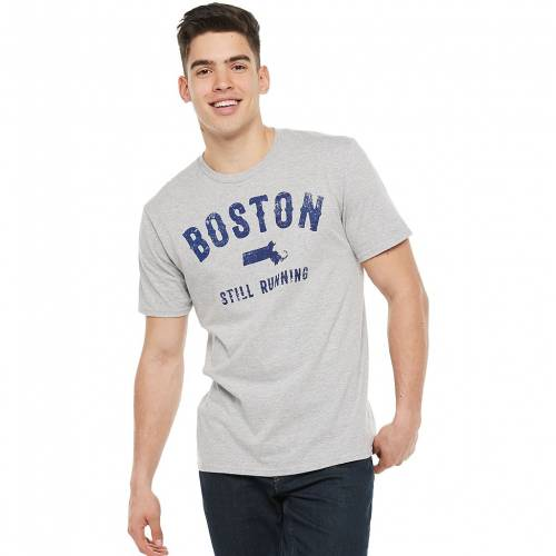 トップス, Tシャツ・カットソー LICENSED CHARACTER T HEATHER GRAY LICENSED CHARACTER BOSTON STILL RUNNING TEE T