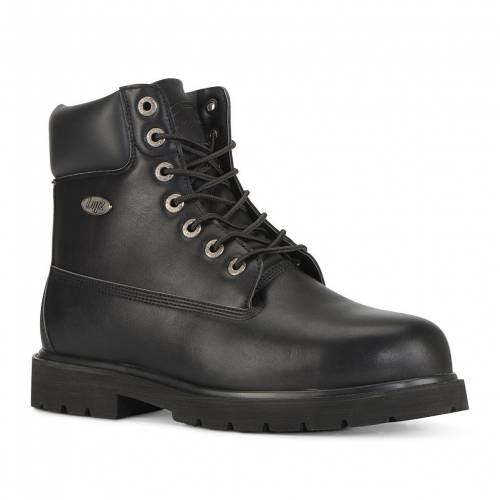 ラグズ LUGZ ラグズ 銀色 スチール ブーツ 黒色 ブラック ワークブーツS 【 LUGZ DRIFTER STEEL TOE BLACK 】 メンズ ブーツ画像