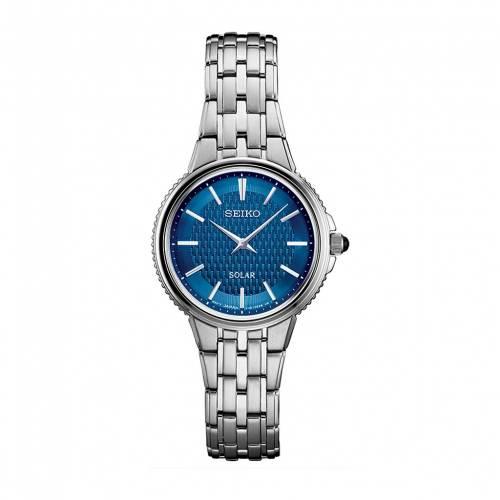 腕時計, レディース腕時計  SEIKO WATCH SILVER SEIKO STAINLESS STEEL SOLAR SUP393 TONE