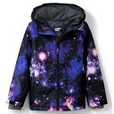 LANDS' END ウィンター ジャケット ギャラクシー LANDS' & 【 END KIDS 720 WINTER JACKET IN REGULAR HUSKY OUTER SPACE GALAXY 】 キッズ ベビー マタニティ コート