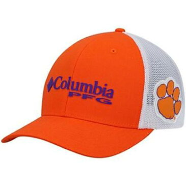 UNBRANDED 橙 オレンジ クレムソン タイガース スナップバック バッグ 【 ORANGE SNAPBACK UNBRANDED COLUMBIA CLEMSON TIGERS PFG ADJUSTABLE HAT CLM 】 バッグ キャップ 帽子 メンズキャップ 帽子