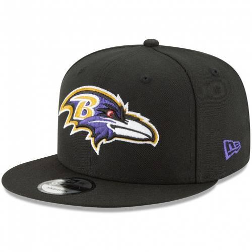 メンズ帽子, その他 NEW ERA SNAPBACK BLACK BASIC 9FIFTY ADJUSTABLE HAT RAV