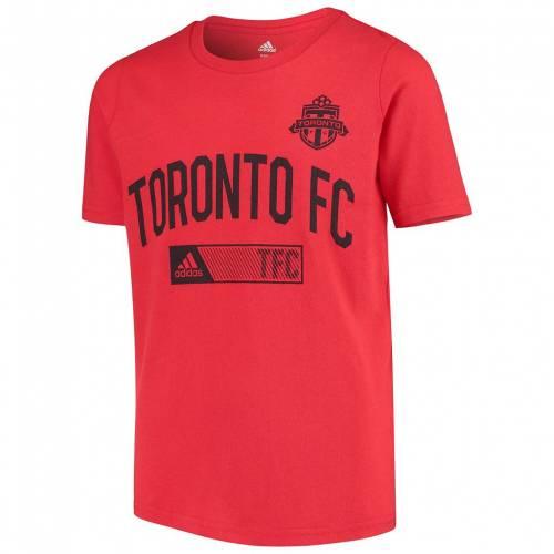 トップス, Tシャツ・カットソー  T RED ADIDAS YOUTH INITIAL INFO TSHIRT TFC