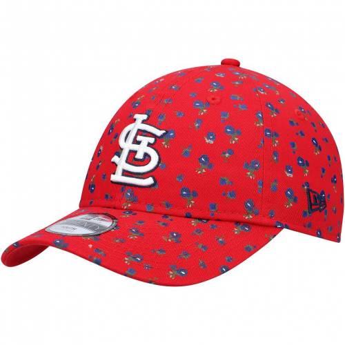 帽子, その他 NEW ERA RED S YOUTH FLORAL 9TWENTY ADJUSTABLE HAT CRD