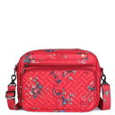 LUG バッグ 赤 レッド クロスボディーバッグ 【 RED LUG RFIDBLOCKING CAROUSEL XL BOUQUET 】 バッグ
