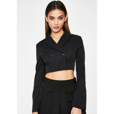 BETTER BE ブレーザー ブレイザー 【 Office Heaux Cropped Blazer 】 Black
