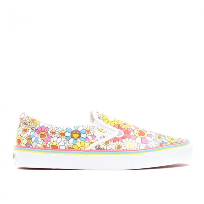 メンズ靴, スニーカー  VANS MULTI FLOWER VANS SLIPON TAKASHI MURAKAMI CLASSIC LX MULTI