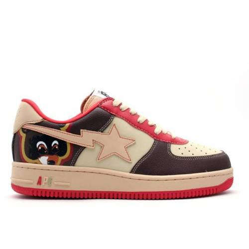 メンズ靴, スニーカー  BAPE COLLEGE DROPOUT BAPE X BAPESTA FS001 LOW BROWN