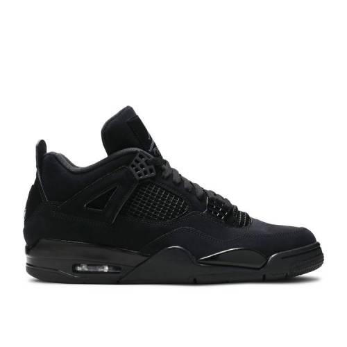 メンズ靴, スニーカー  AIR JORDAN BLACK CAT AIR 4 RETRO 2020 BLACK LIGHT GRAPHITE