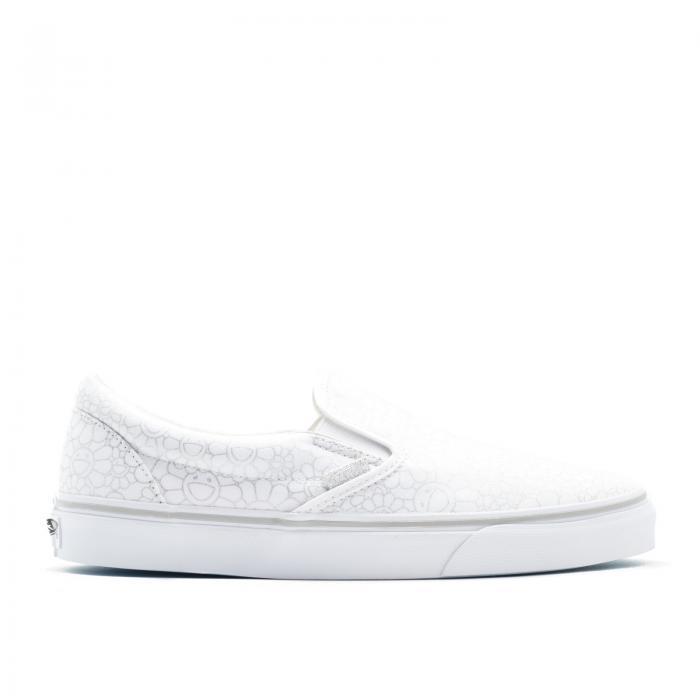 メンズ靴, スニーカー  VANS SILVER FLOWER VANS SLIPON SILVER TAKASHI MURAKAMI CLASSIC LX LINE