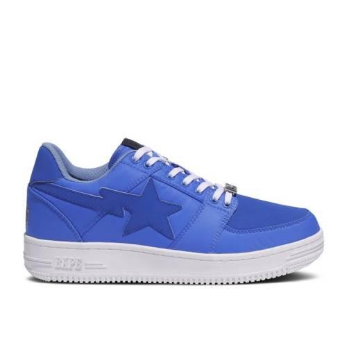 メンズ靴, スニーカー  BAPE BLUE BAPE STASH X BAPESTA LOW M2 BLUE