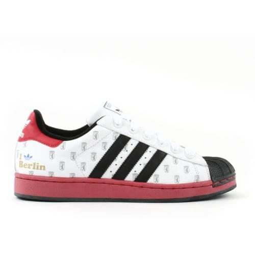 メンズ靴, スニーカー  ADIDAS BERLIN SUPERSTAR ADIDAS CITY VE WHITE COLRED METALLIC GOLD