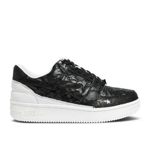 メンズ靴, スニーカー  BAPE BLACK BAPE FUTURE X BAPESTA LOW M1 BLACK