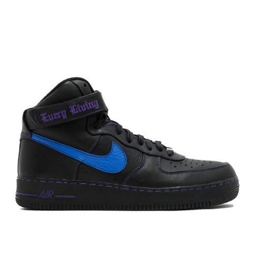 メンズ靴, スニーカー  NIKE BLUE SWOOSH PURPLE NIKE VLONE X 1 HIGH SAMPLE BLACK PRIZE BLUECOURT
