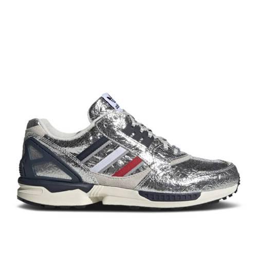 メンズ靴, スニーカー  ADIDAS AZX MARATHON SILVER ADIDAS CONCEPTS X ZX 9000 SERIES BOSTON METALLIC SCARLET COLLEGIATE NAVY