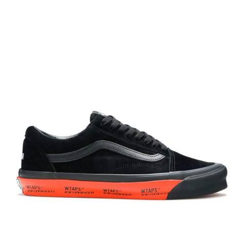 メンズ靴, スニーカー  VANS BLACK ORANGE VANS ORANGE WTAPS X LX BLACK