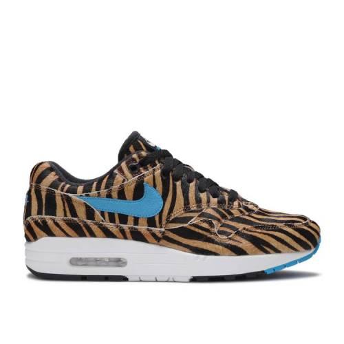 メンズ靴, スニーカー  NIKE ANIMAL TIGER AIR NIKE ATMOS X 1 DLX PACK MULTI COLOR BLUE HERO WHITE
