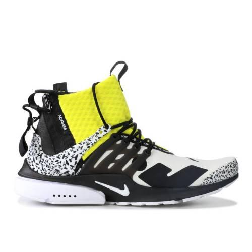 メンズ靴, スニーカー  NIKE DYNAMIC YELLOW NIKE ACRONYM X MID WHITE DYNAMIC YELLOWBLACK